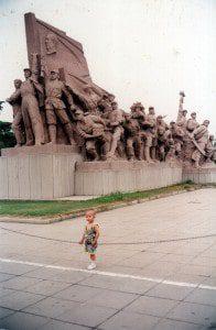 boy monument